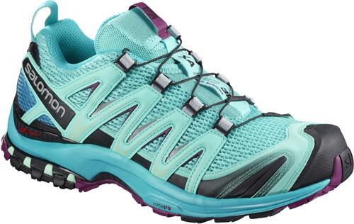 Salomon XA Pro 3D Shoes Women Blue Curacao/Blue Bird/Dark Purple UK 6,5